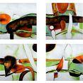 gilde artprint op linnen »vierteiliges gemaelde« multicolor
