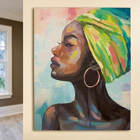Gilde artprint op linnen »Gemälde Makeda« nu online bestellen