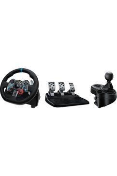 logitech games gaming-stuur g29 driving force inclusief driving force shifter zwart