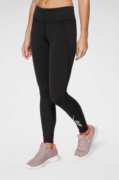 reebok functionele tights zwart