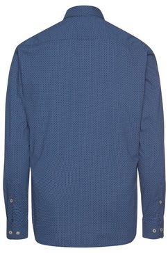 marc o'polo overhemd met lange mouwen blauw