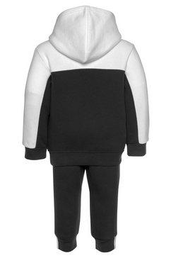 adidas originals joggingpak »hoodie set« (set, 2 tlg.) zwart