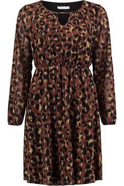 haily's gedessineerde jurk »kim« bruin