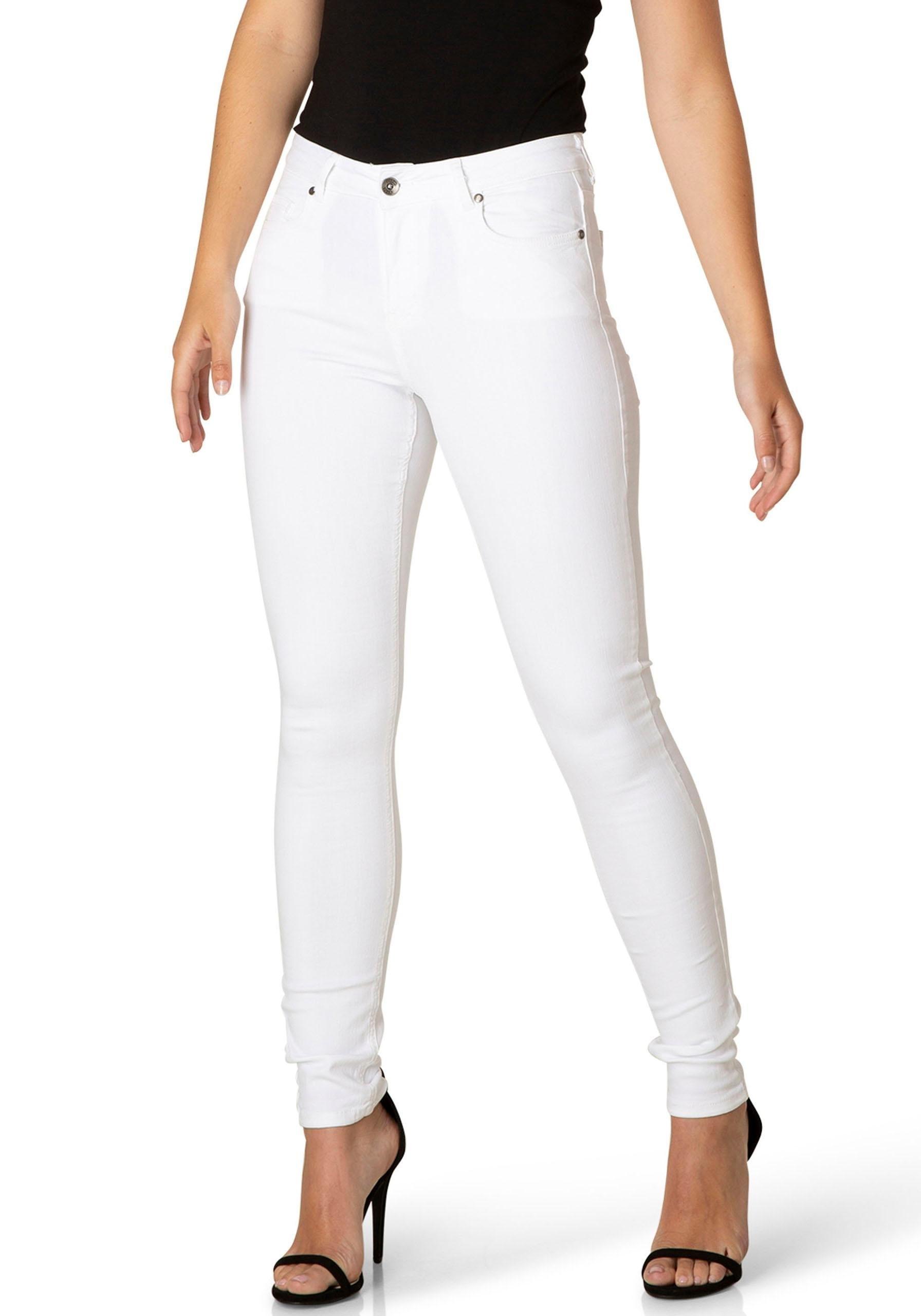 DNIM by Yest slim fit jeans »Mell« nu online kopen bij OTTO