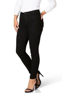 dnim by yest high-waist jeans »quinn« zwart