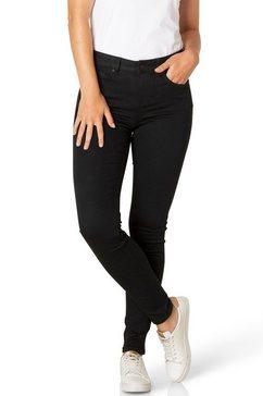 dnim by yest slim fit jeans »joy« zwart