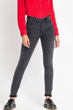 lee skinny jeans grijs