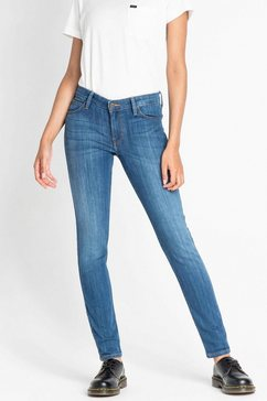 lee high waisted jeans »scarlett« blauw