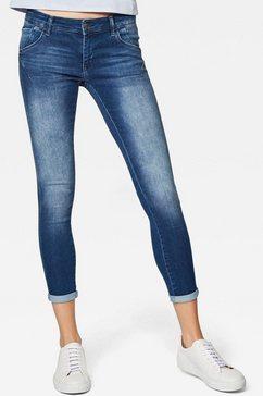 mavi jeans skinny fit jeans lexy met push-up effect blauw