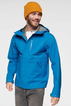 the north face regenjack »dryzzle« blauw