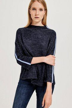 opus shirt met lange mouwen blauw