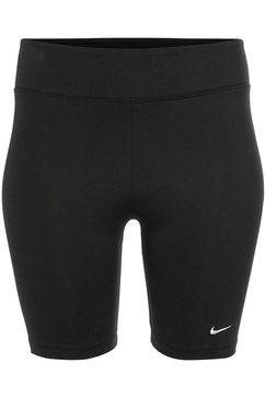 nike sportswear fietsbroekje »legasee bike short plus size« zwart