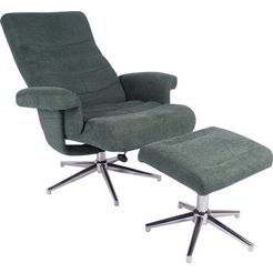 duo collection relaxfauteuil »markham« groen