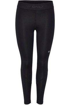 only play functionele tights onpgill training tights curvy opus grote maten zwart