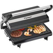 bestron »apm123z« panini-grill zwart