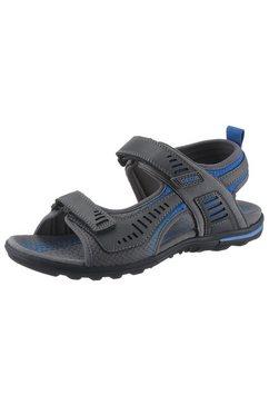 geox sandalen »tevere« grijs