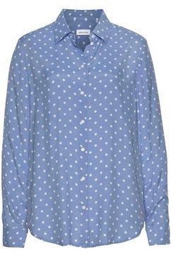 seidensticker gedessineerde blouse blauw