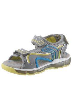 geox kids sandalen »blinkschuh sandal android boy« grijs