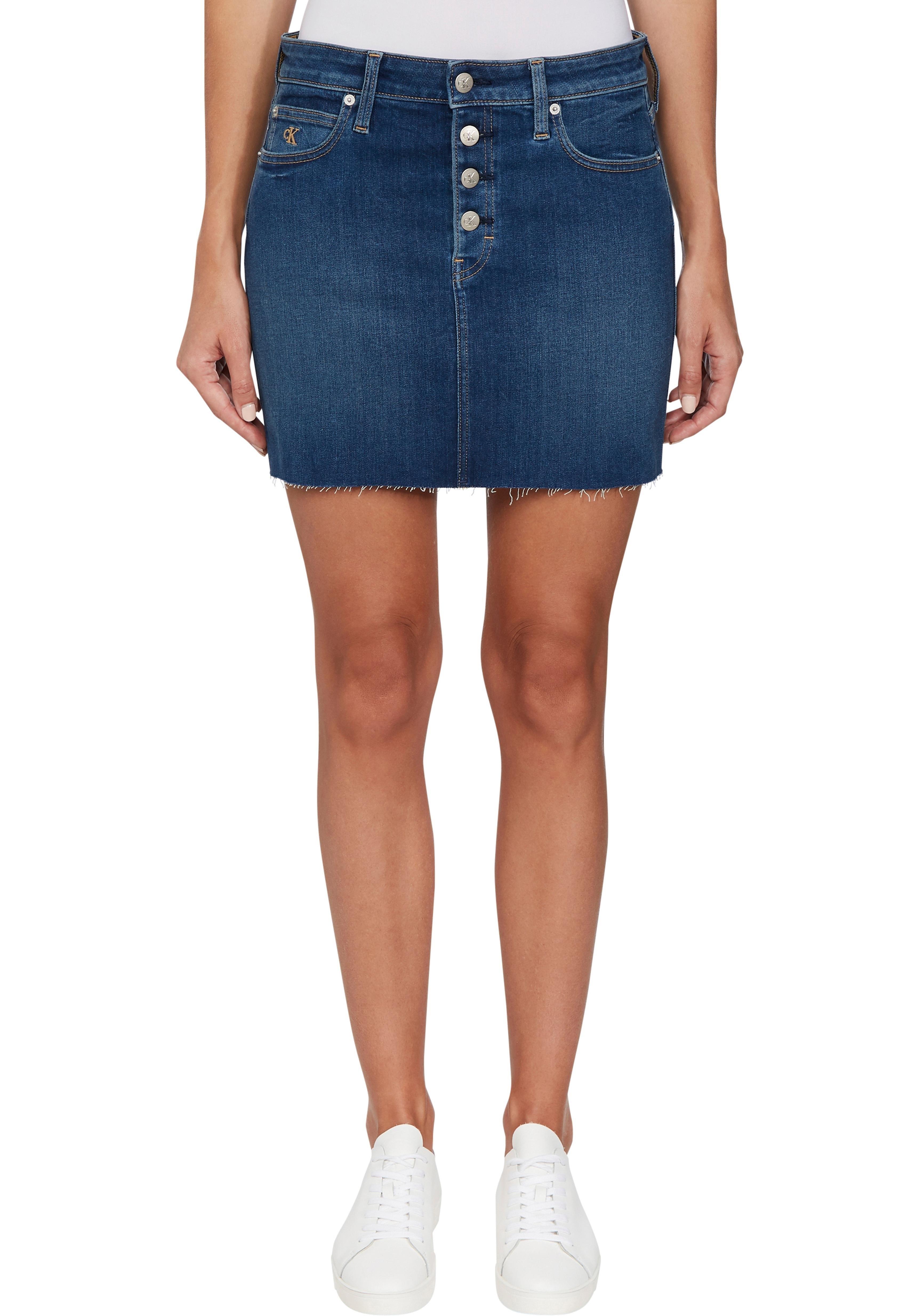 Calvin Klein jeansrok »MID RISE MINI SKIRT« nu online kopen bij OTTO
