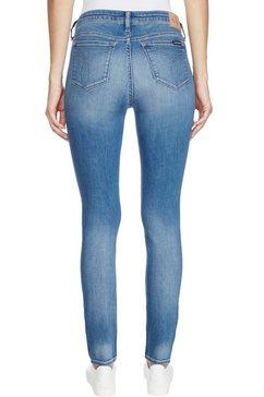 calvin klein skinny fit jeans »ckj 001 super skinny« blauw