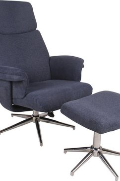 duo collection relaxfauteuil sudbury blauw