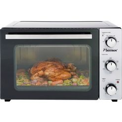 bestron »aov31« mini-oven zwart