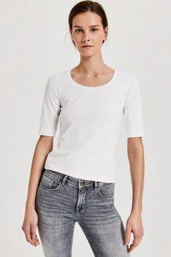 opus shirt met korte mouwen »daily f« wit