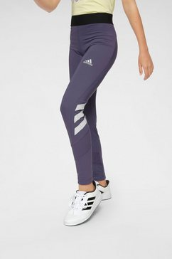 adidas performance functionele tights »jouth girl training tight« paars