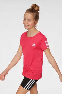 adidas performance trainingsshirt »young girl training equipment tee« roze