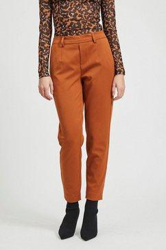 object pantalon »objlisa slim pant« bruin