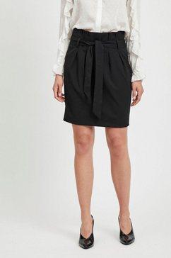 object minirok »objlisa abella mini skirt« zwart