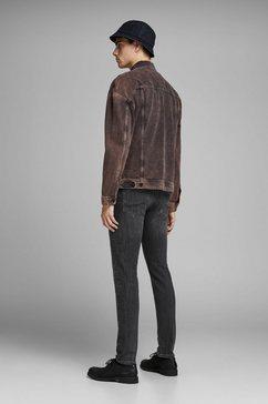 jack  jones slim fit jeans »glen« grijs