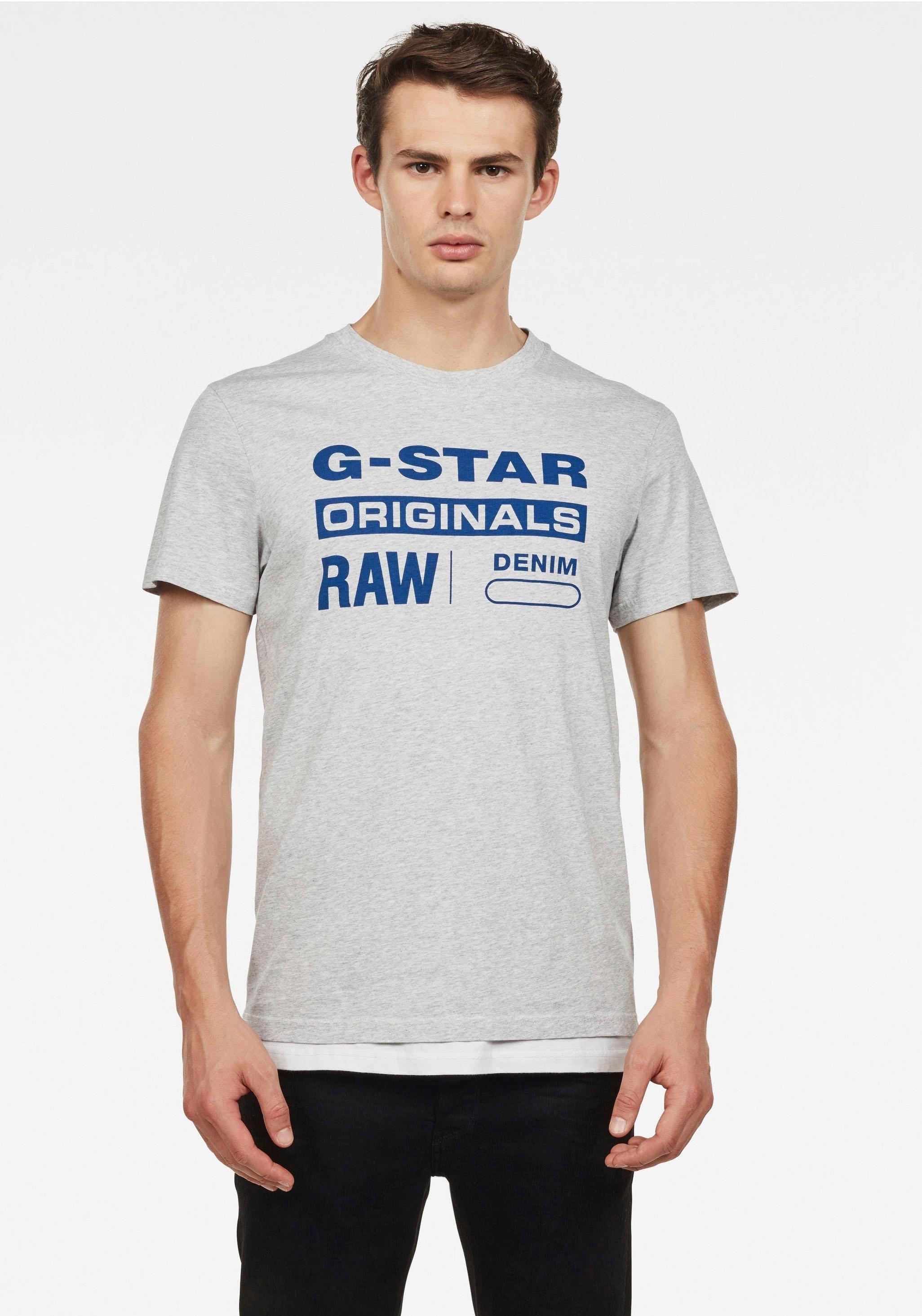 G-star Raw shirt met ronde hals »Graphic 4« in de webshop van OTTO kopen