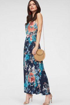 melrose maxi-jurk blauw