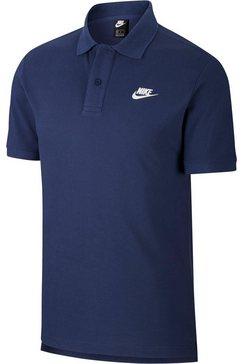 nike sportswear poloshirt »men polo matchup« blauw