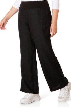 bsic by yesta linnen broek »alia« zwart
