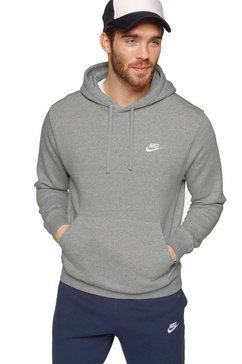 nike sportswear hoodie nike sportswear club fleece men's pullover hoodie grijs