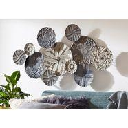 boltze sierobject voor aan de wand »caritan« grijs