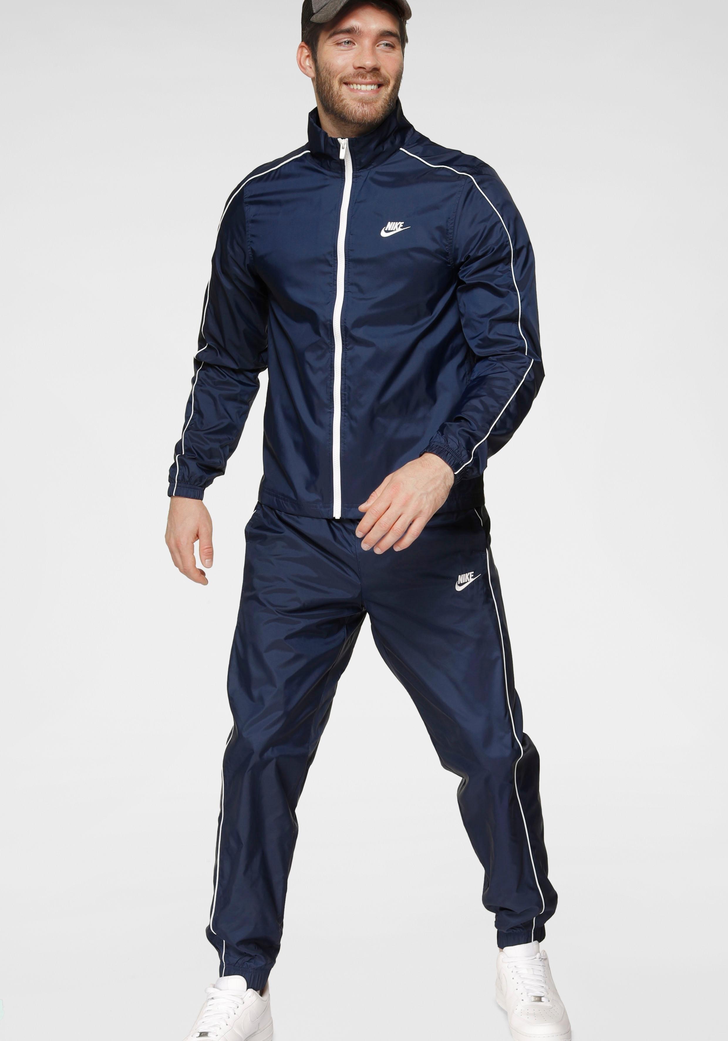 Nike Sportswear joggingpak »M NSW CE TRK SUIT WVN BASIC« (2-delige set) voordelig en veilig online kopen