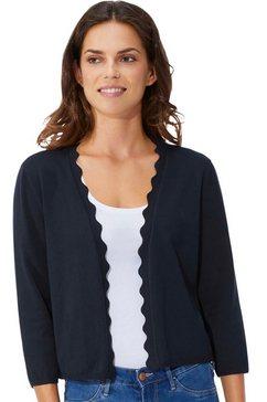 lady vest blauw
