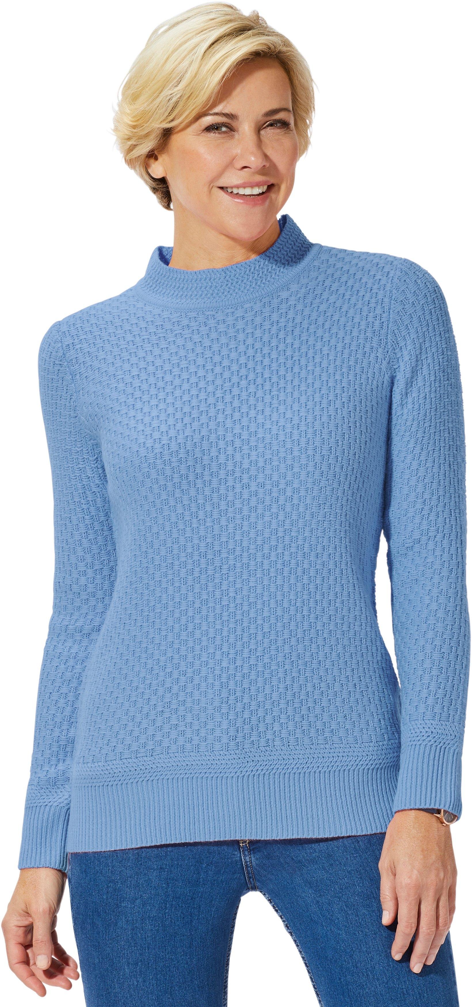 Classic Basics trui met staande kraag voordelig en veilig online kopen
