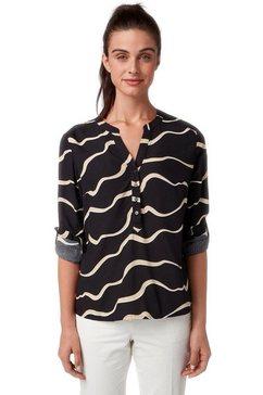 tom tailor blouse zonder sluiting zwart