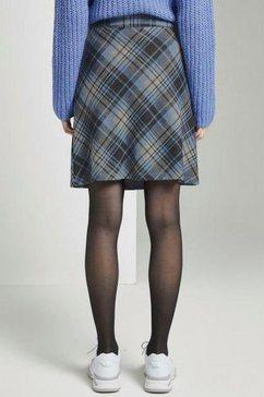 tom tailor geruite rok blauw