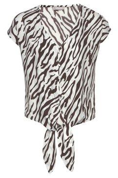 tamaris blouse met korte mouwen wit