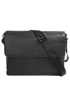bugatti messenger bag »citta« zwart