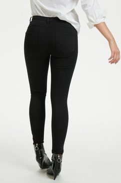denim hunter 5-pocketsjeans »39 the celinazip black« zwart