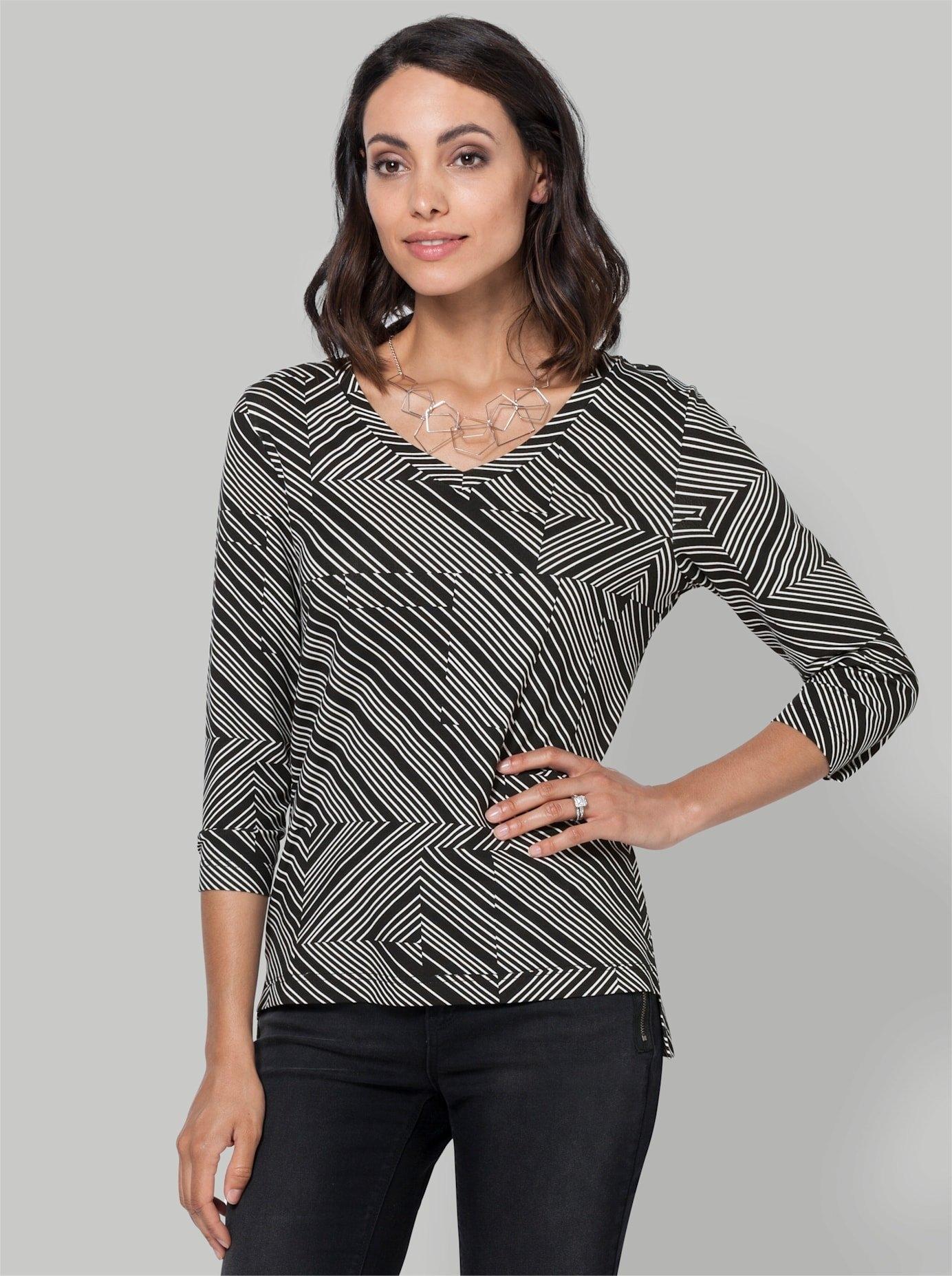 Ambria shirt met print bestellen: 30 dagen bedenktijd