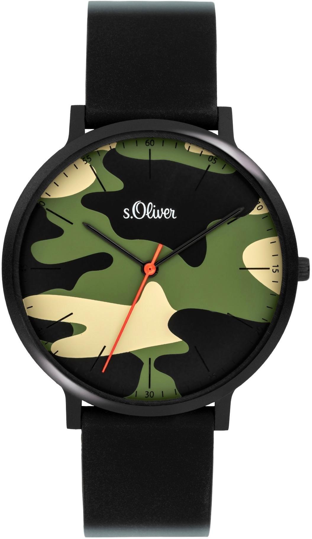 s.Oliver s.Oliver kwartshorloge »SO-4074-PQ« goedkoop op otto.nl kopen