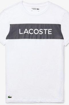 lacoste t-shirt wit