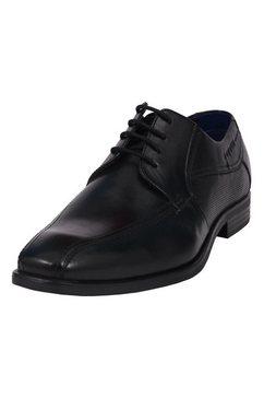 bugatti veterschoenen »savio« zwart